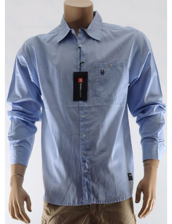 WRUNG CHEMISE OXFORD MEN LONG SLEEVED SHIRT